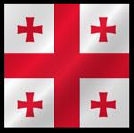 Грузия флаг