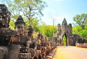 Камбоджа активно развивает туризм
