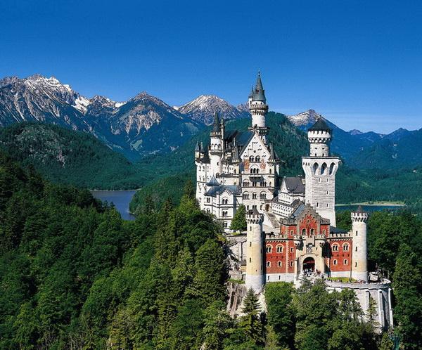 """Альпийское три """"о""""  Мюнхен, замок Нойшванштайн, Цюрих и Вена!"""